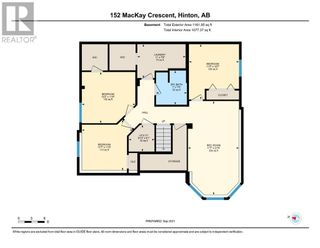 Photo 40: 152 MacKay Crescent in Hinton: House for sale : MLS®# A1108332