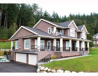 Photo 1: 768 SUNSET Road: Anmore House for sale (Port Moody)  : MLS®# V743321
