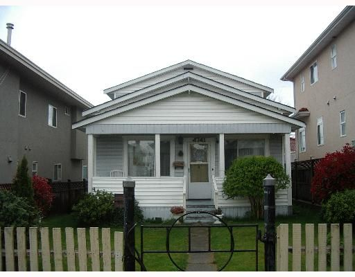 Main Photo: 4741 GEORGIA Street in Burnaby: Capitol Hill BN House for sale (Burnaby North)  : MLS®# V644633