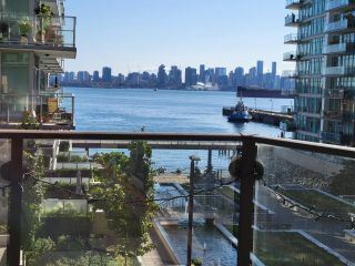 """Main Photo: 304 172 VICTORY SHIP Way in North Vancouver: Lower Lonsdale Condo for sale in """"ATRIUM EAST AT THE PIER"""" : MLS®# R2602883"""