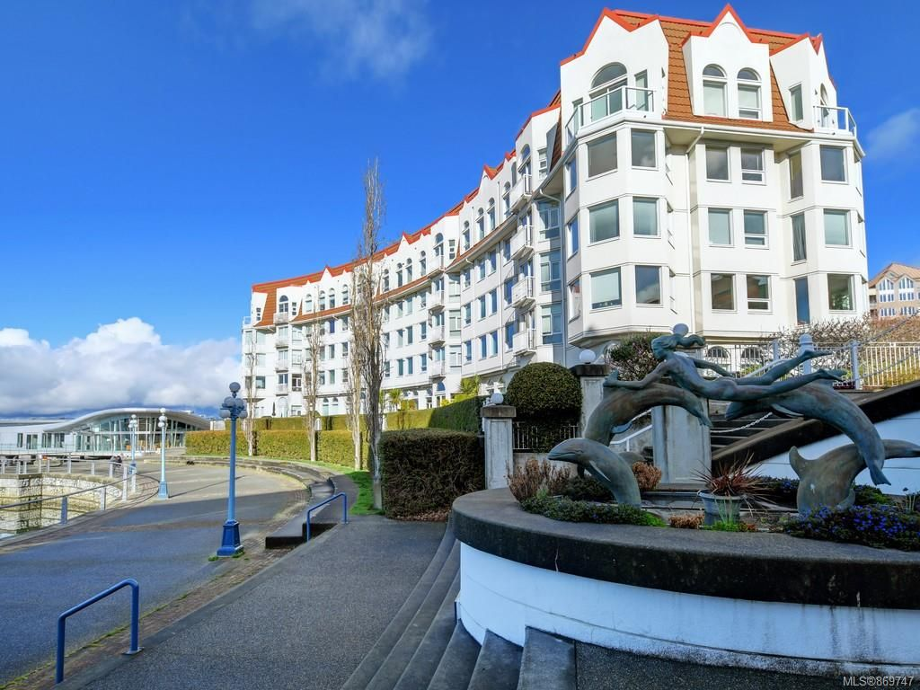 Main Photo: 301 11 Cooperage Pl in : VW Songhees Condo for sale (Victoria West)  : MLS®# 869747