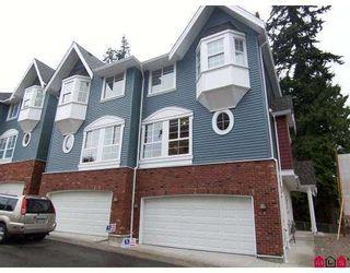 "Photo 1: 4 5889 152 Street in Surrey: Sullivan Station Townhouse for sale in ""Sullivan Gardens"" : MLS®# F2725185"