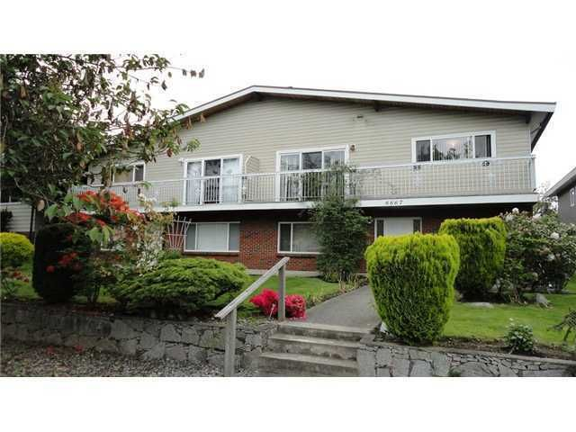 Main Photo: 6667 GRANT Street in Burnaby: Sperling-Duthie 1/2 Duplex for sale (Burnaby North)  : MLS®# V921434