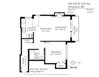 """Photo 17: 304 674 W 17TH Avenue in Vancouver: Cambie Condo for sale in """"Heatherfield"""" (Vancouver West)  : MLS®# R2285626"""