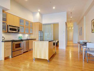 Photo 2: For Rent: Luxury Gastown Loft