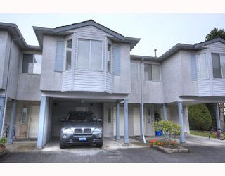 """Photo 1: 29 3111 BECKMAN Place in Richmond: West Cambie Townhouse for sale in """"BRIDGE POINTE"""" : MLS®# V732496"""