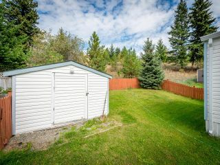 Photo 16: 139 1555 HOWE ROAD in Kamloops: Aberdeen Manufactured Home/Prefab for sale : MLS®# 153543