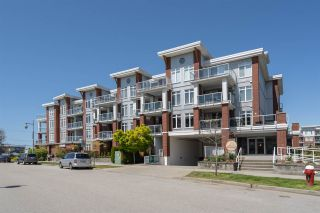 """Photo 1: 408 4111 BAYVIEW Street in Richmond: Steveston South Condo for sale in """"THE VILLAGE"""" : MLS®# R2455137"""