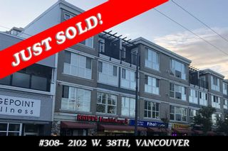 Photo 1: 308 2102 W 38TH AVENUE in Vancouver: Kerrisdale Condo for sale (Vancouver West)  : MLS®# R2480305