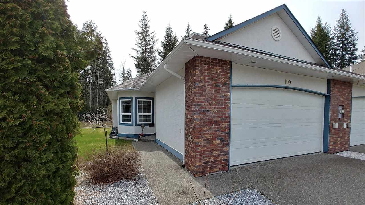 Main Photo: 110 4450 COWART Road in Prince George: Lower College Townhouse for sale (PG City South (Zone 74))  : MLS®# R2353341