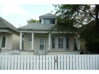 Photo 1: 354 Martin Avenue West in WINNIPEG: East Kildonan Residential for sale (North East Winnipeg)  : MLS®# 1214601