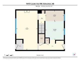 Photo 35: 10410 LAUDER Avenue in Edmonton: Zone 01 Attached Home for sale : MLS®# E4256925