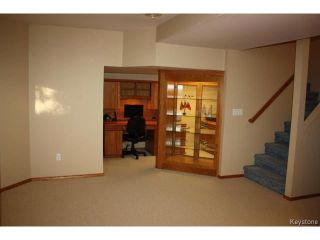 Photo 17: 3 Hawkesbury Crescent in WINNIPEG: River Heights / Tuxedo / Linden Woods Residential for sale (South Winnipeg)  : MLS®# 1413544
