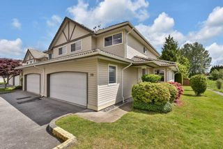 """Photo 1: 98 758 RIVERSIDE Drive in Port Coquitlam: Riverwood Townhouse for sale in """"RIVERLANE ESTATES"""" : MLS®# R2585825"""