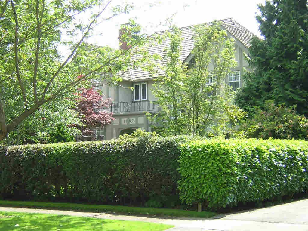 Main Photo: 1742 W 40TH AVENUE in : Shaughnessy House for sale (Vancouver West)  : MLS®# V594610