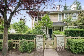 """Photo 1: 990 W 58TH Avenue in Vancouver: South Cambie Townhouse for sale in """"Churchill Gardens"""" (Vancouver West)  : MLS®# R2472481"""
