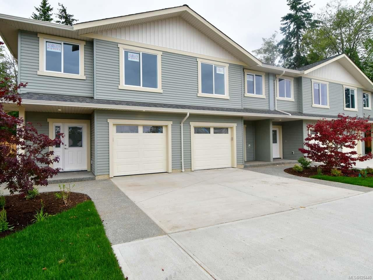 Main Photo: 336B Petersen Rd in CAMPBELL RIVER: CR Campbellton Row/Townhouse for sale (Campbell River)  : MLS®# 828440