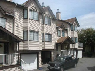 "Photo 1: 20 2352 PITT RIVER Road in Port Coquitlam: Mary Hill Townhouse for sale in ""SHAUGHNESSY ESTATES"" : MLS®# V841734"