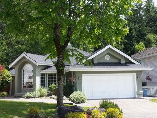 Photo 1: 1519 BRAMBLE LN in Coquitlam: Westwood Plateau House for sale : MLS®# V1011506
