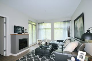 "Photo 3: 203 201 MORRISSEY Road in Port Moody: Port Moody Centre Condo for sale in ""LIBRA"" : MLS®# R2065703"