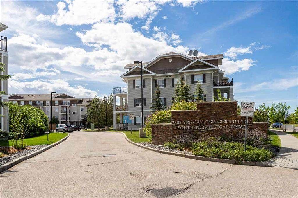 Main Photo: 1421 7339 SOUTH TERWILLEGAR Drive in Edmonton: Zone 14 Condo for sale : MLS®# E4226951