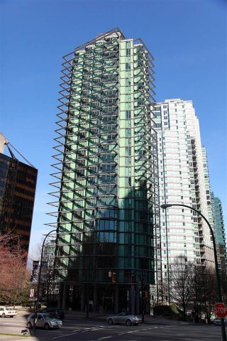 Photo 1: 1102 1331 W GEORGIA Street in Vancouver: Coal Harbour Condo for sale (Vancouver West)  : MLS®# R2134346