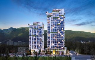 """Photo 1: 502 1633 CAPILANO Road in North Vancouver: Capilano NV Condo for sale in """"Park West @ Lions Gate Village"""" : MLS®# R2604628"""