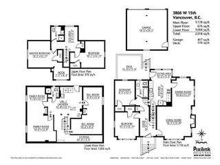 """Photo 19: 3866 W 15TH Avenue in Vancouver: Point Grey House for sale in """"Point Grey"""" (Vancouver West)  : MLS®# V1096152"""