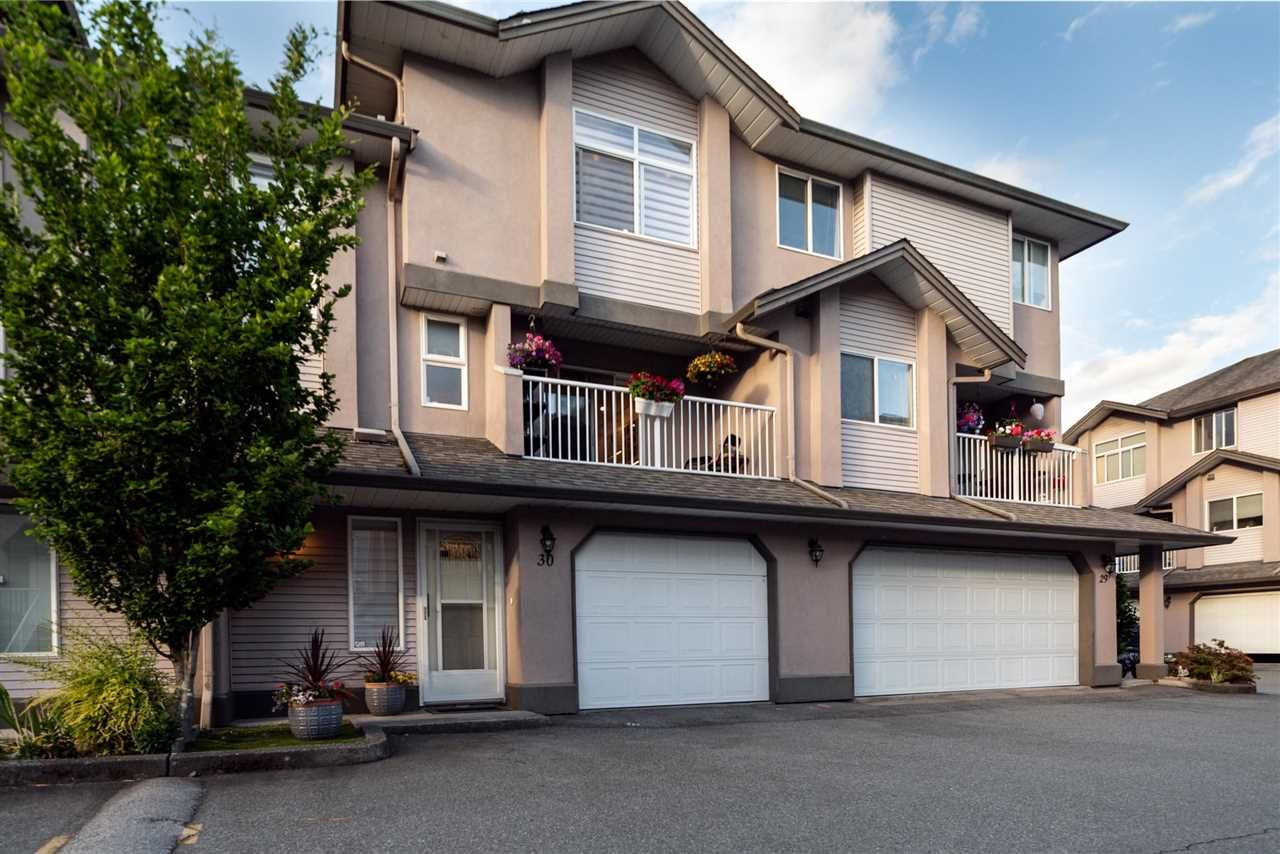 """Main Photo: 30 2538 PITT RIVER Road in Port Coquitlam: Mary Hill Townhouse for sale in """"River Court"""" : MLS®# R2590465"""