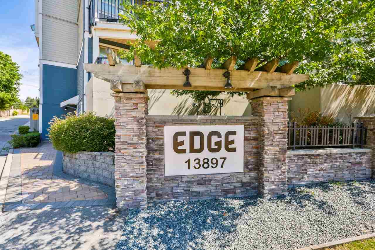 """Main Photo: 327 13897 FRASER HIGHWAY Highway in Surrey: Whalley Condo for sale in """"EDGE"""" (North Surrey)  : MLS®# R2273051"""