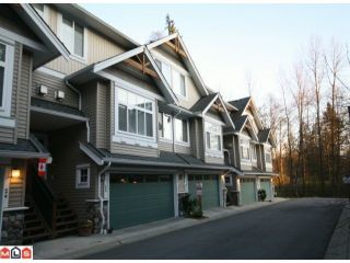 "Photo 1: 25 21704 96TH Avenue in Langley: Walnut Grove Townhouse for sale in ""REDWOOD BRIDGE ESTATES"" : MLS®# F1006359"