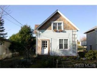Photo 1:  in VICTORIA: Vi Oaklands House for sale (Victoria)  : MLS®# 454186