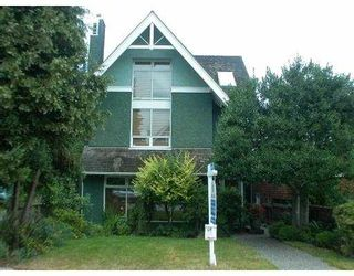 Photo 1: 3163 W 2ND AV in Vancouver: Kitsilano 1/2 Duplex for sale (Vancouver West)  : MLS®# V552546