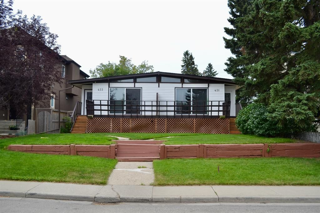 Main Photo: 431 21 Avenue NE in Calgary: Winston Heights/Mountview Semi Detached for sale : MLS®# A1135304