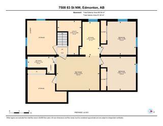Photo 49: 7508 83 Street in Edmonton: Zone 17 House for sale : MLS®# E4258266