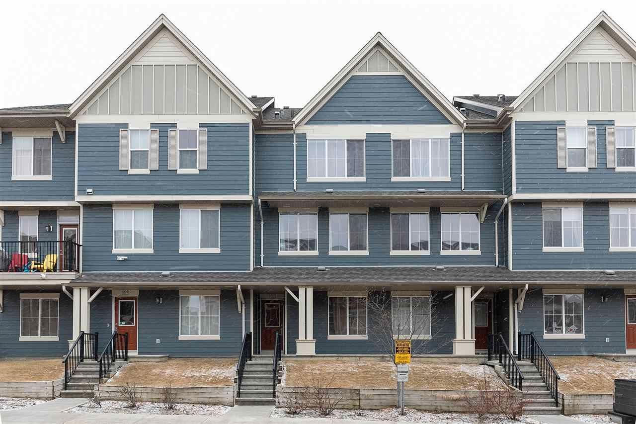 Main Photo: 123 603 WATT Boulevard in Edmonton: Zone 53 Townhouse for sale : MLS®# E4251485