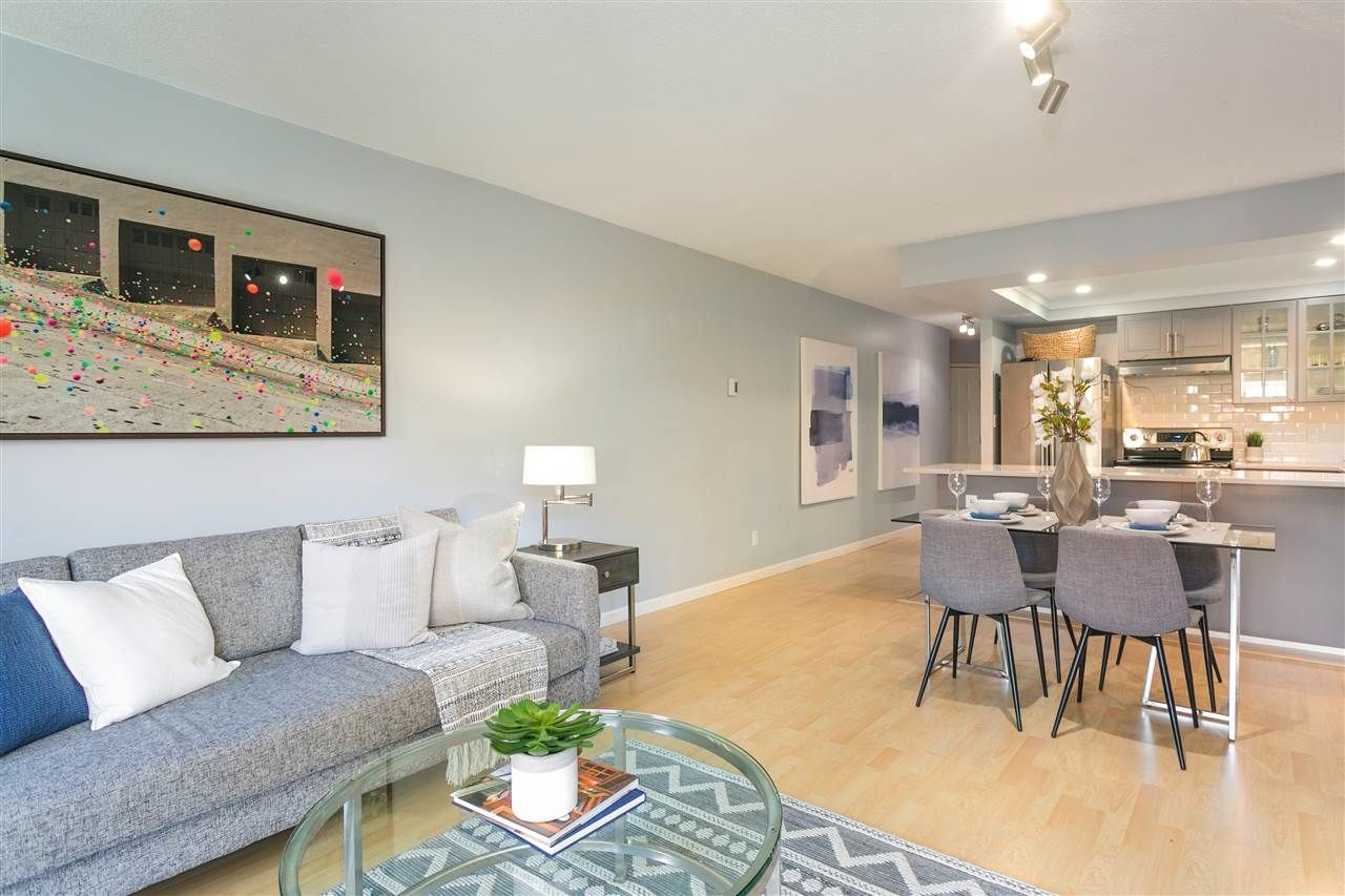"""Photo 6: Photos: 106 2428 W 1ST Avenue in Vancouver: Kitsilano Condo for sale in """"Noble House"""" (Vancouver West)  : MLS®# R2212887"""