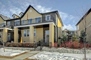 Photo 1: 82 Cranbrook Drive SE in Calgary: Cranston Row/Townhouse for sale : MLS®# A1075225