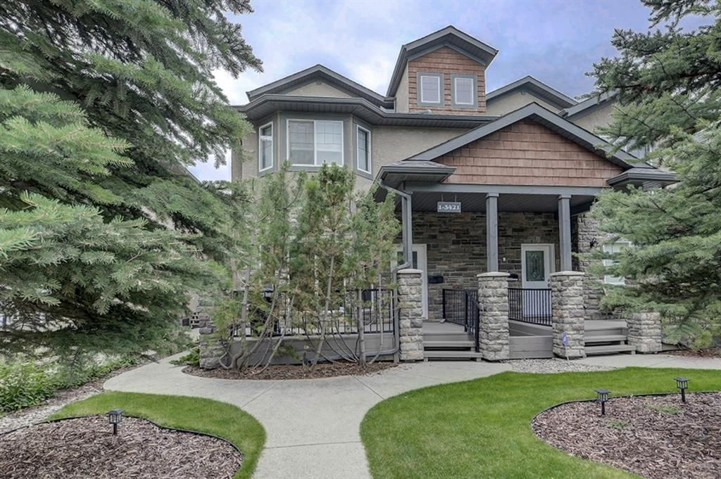 Main Photo: 1, 3421 5 Avenue NW in Calgary: Parkdale Row/Townhouse for sale : MLS®# A1057413