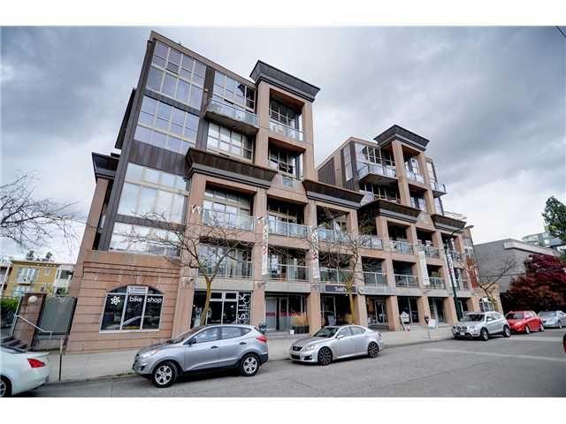 "Main Photo: # 311 1529 W 6TH AV in Vancouver: False Creek Condo for sale in ""SOUTH GRANVILLE LOFTS"" (Vancouver West)  : MLS®# V947302"