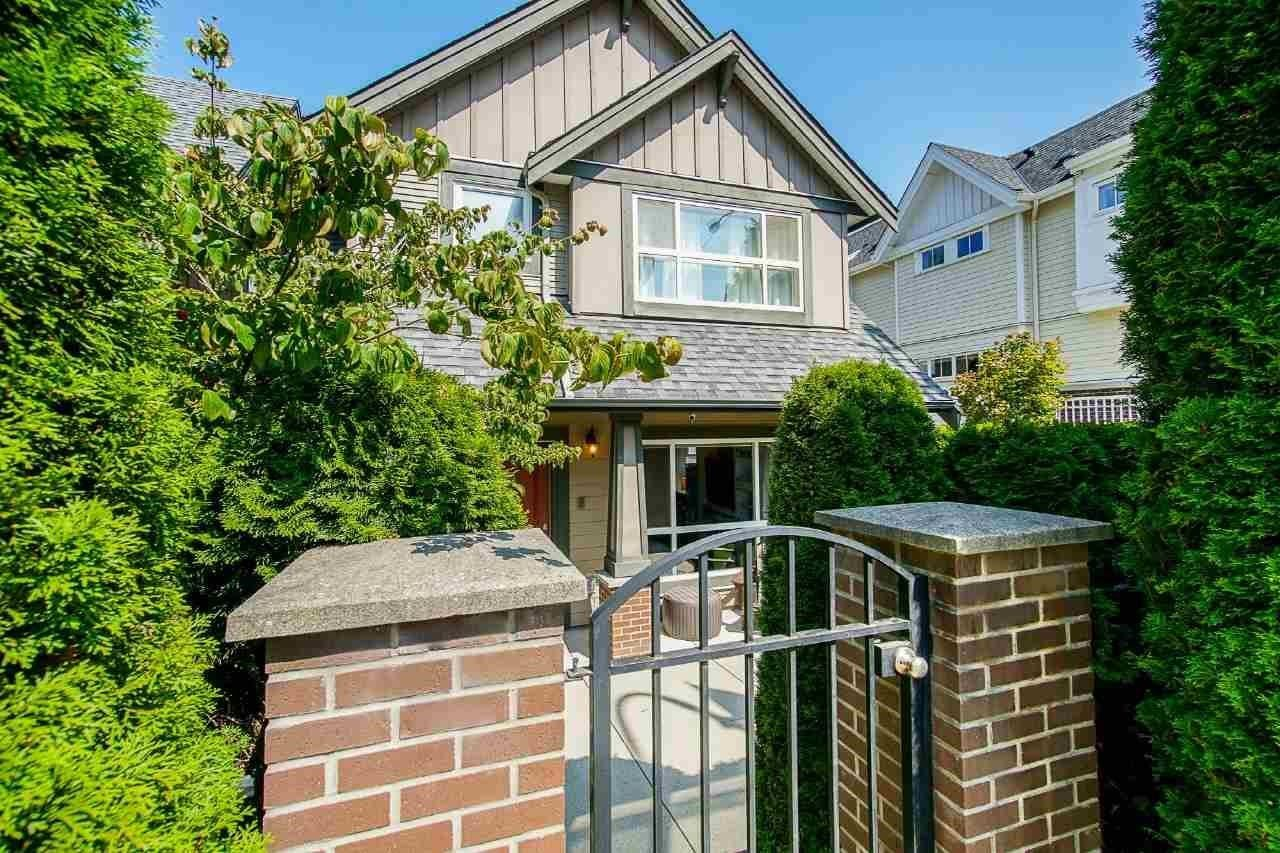 """Main Photo: 6 2115 SPRING Street in Port Moody: Port Moody Centre Townhouse for sale in """"Creekside"""" : MLS®# R2596758"""