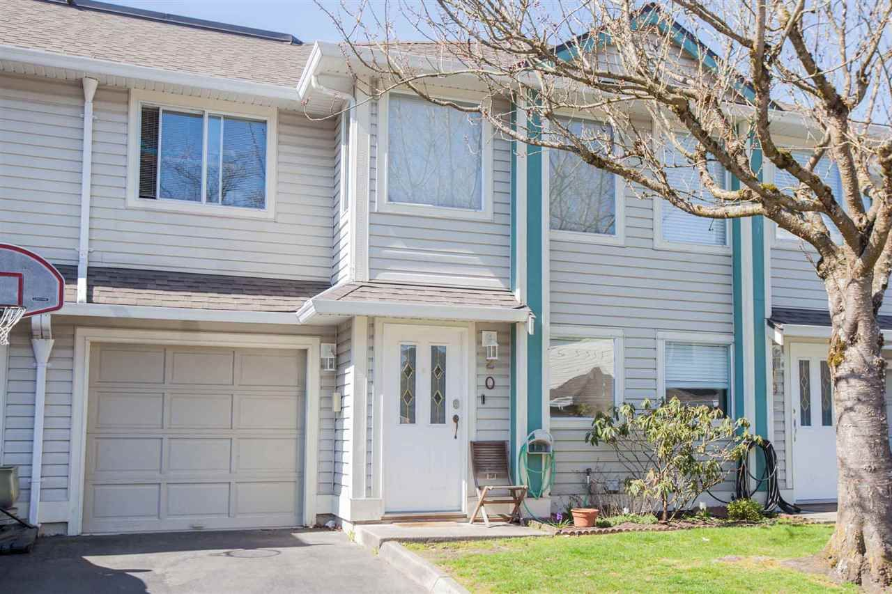 Central location, single car garage, and parking out front too!