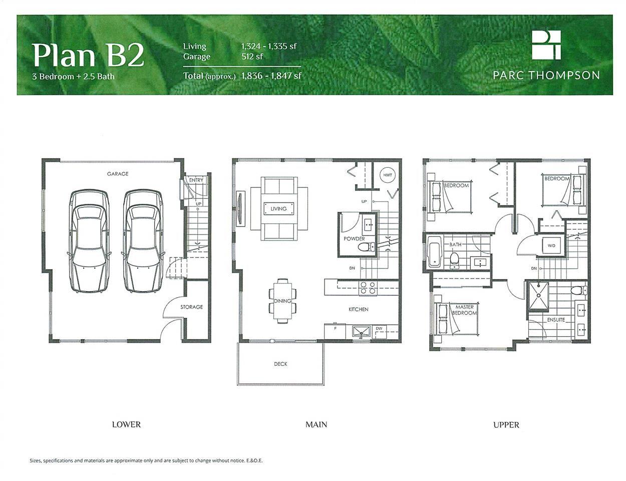 "Main Photo: 11 4300 THOMPSON Road in Richmond: Hamilton RI Townhouse for sale in ""Parc Thompson"" : MLS®# R2534362"
