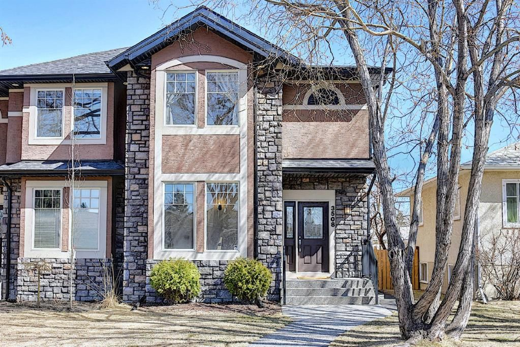 Main Photo: 3508 Centre B Street NW in Calgary: Highland Park Semi Detached for sale : MLS®# A1094549