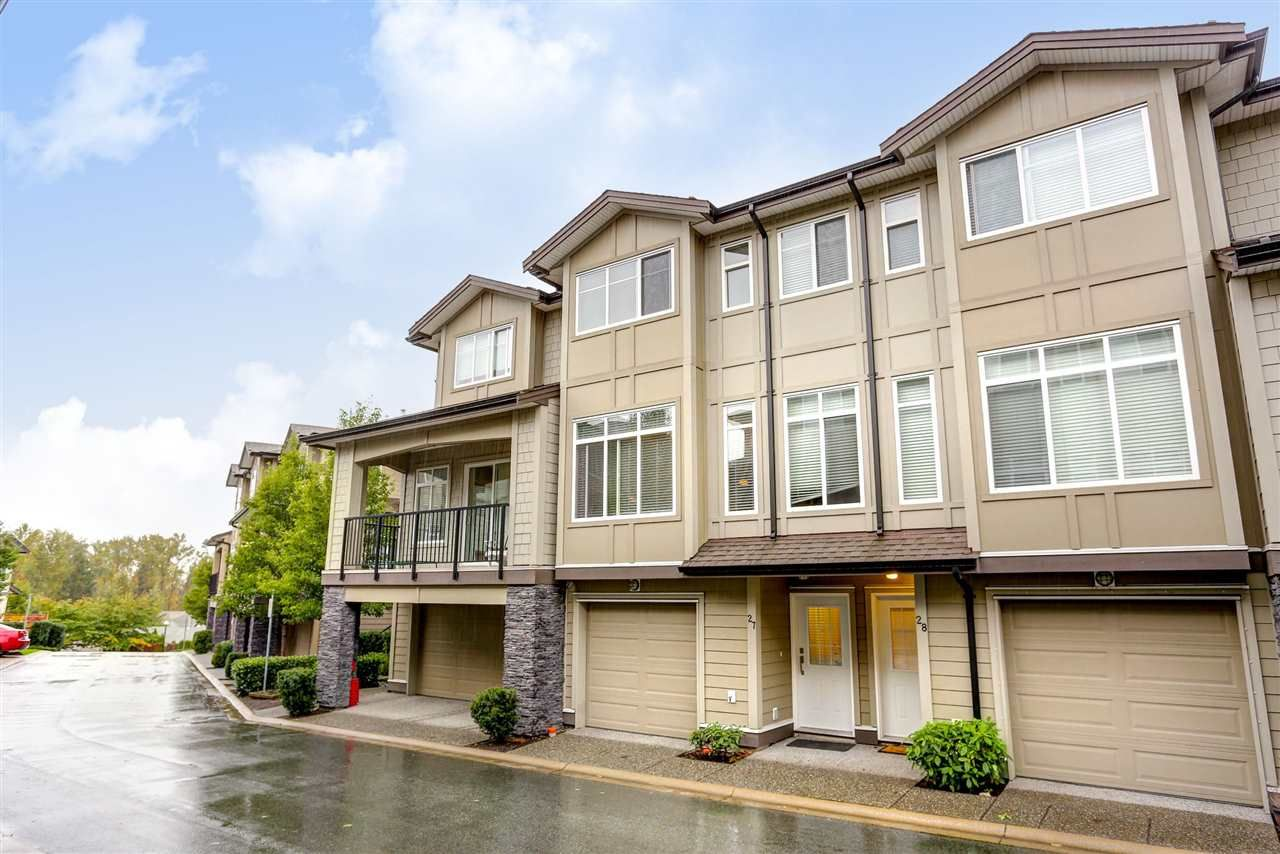 """Main Photo: 27 22865 TELOSKY Avenue in Maple Ridge: East Central Condo for sale in """"WINDSONG"""" : MLS®# R2117225"""