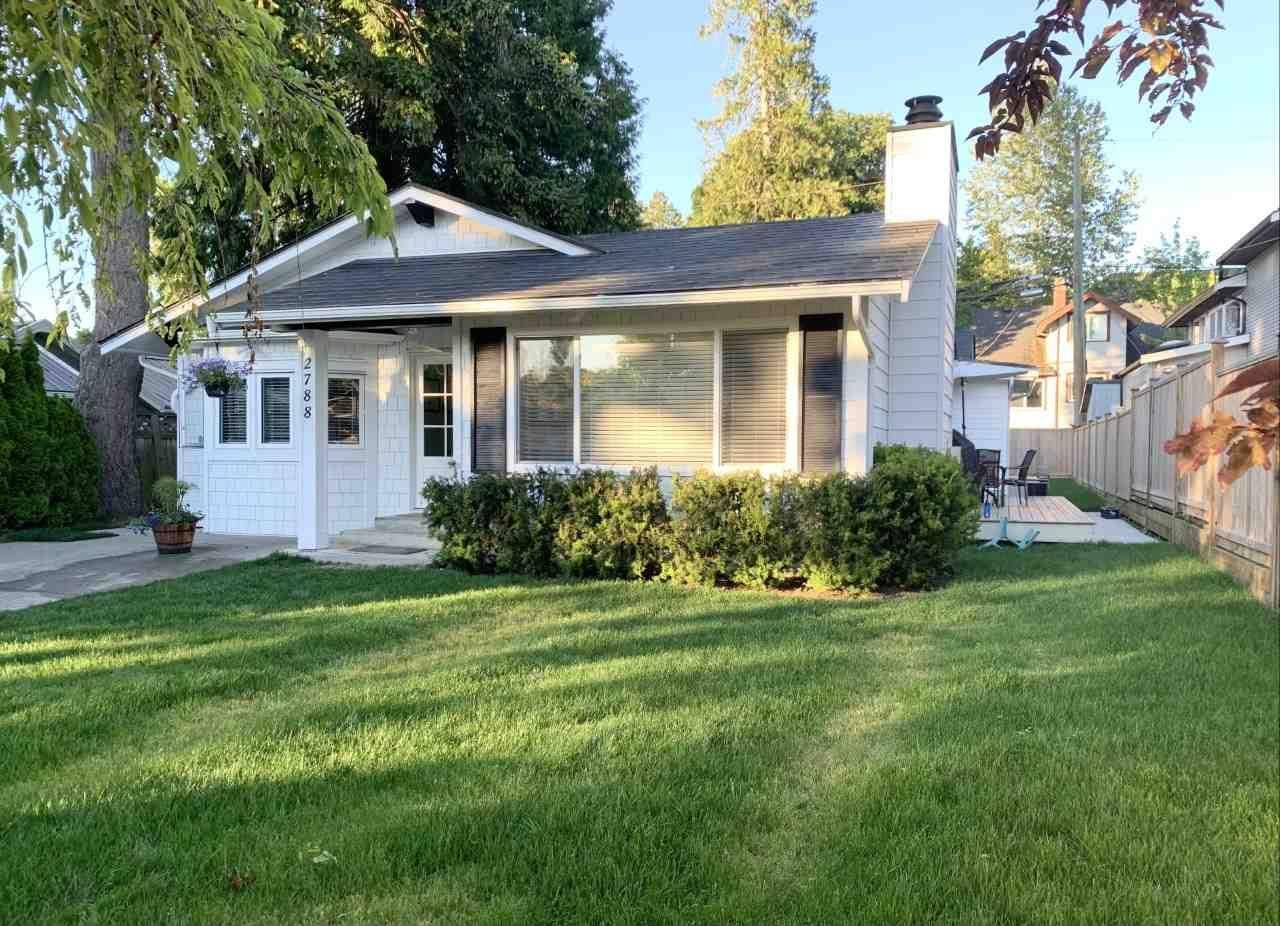 "Main Photo: 2788 GORDON Avenue in Surrey: Crescent Bch Ocean Pk. House for sale in ""CRESCENT BEACH"" (South Surrey White Rock)  : MLS®# R2549454"