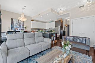 """Photo 1: 713 5399 CEDARBRIDGE Way in Richmond: Brighouse Condo for sale in """"RIVA"""" : MLS®# R2624157"""