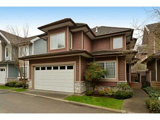 Photo 1: # 43 3363 ROSEMARY HEIGHTS CR in Surrey: Morgan Creek House for sale (South Surrey White Rock)  : MLS®# F1433476