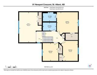 Photo 42: 81 Newport Crescent: St. Albert House for sale : MLS®# E4240996