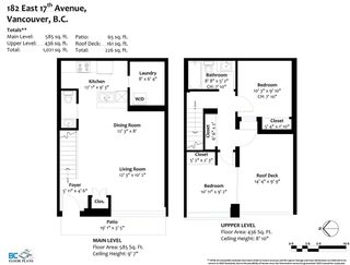 """Photo 29: 182 E 17TH Avenue in Vancouver: Main Townhouse for sale in """"3333 MAIN"""" (Vancouver East)  : MLS®# R2590115"""